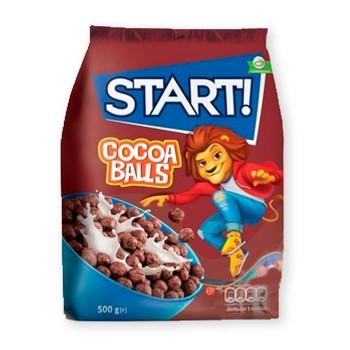 П - шоколадні кульки START 500г