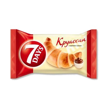 """КРУАСАН """"7-DAYS"""" З ШОКОЛАДОМ"""